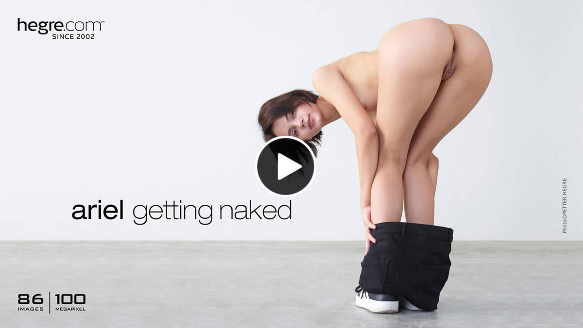 Ariel Hegre Getting Naked