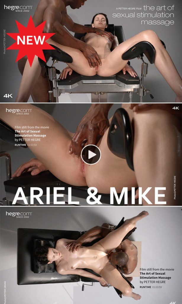 Ariel and Mike shot by Petter Hegre